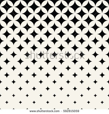 450x470 Halftone Texture Vector Geometric Halftone Stars Decorative Art