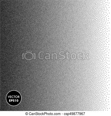 450x470 Vector Dotted Background. Dots Halftone Texture. Halftone... Clip