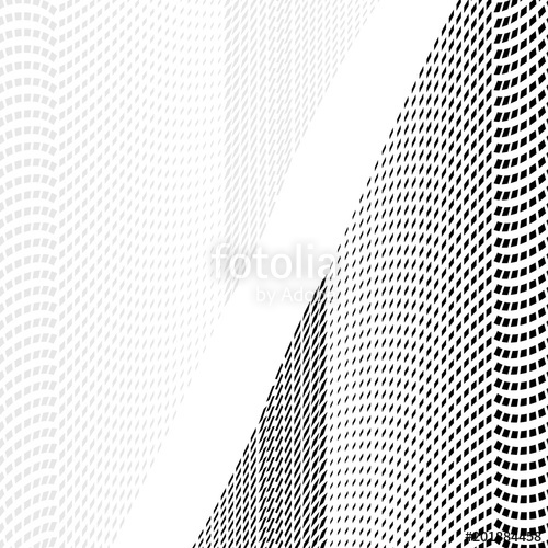 500x500 Abstract Halftone Pattern. Vector Halftone Background Of Squares