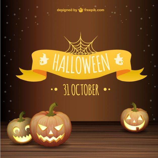 626x626 Halloween Background Free Vector Free Vectors