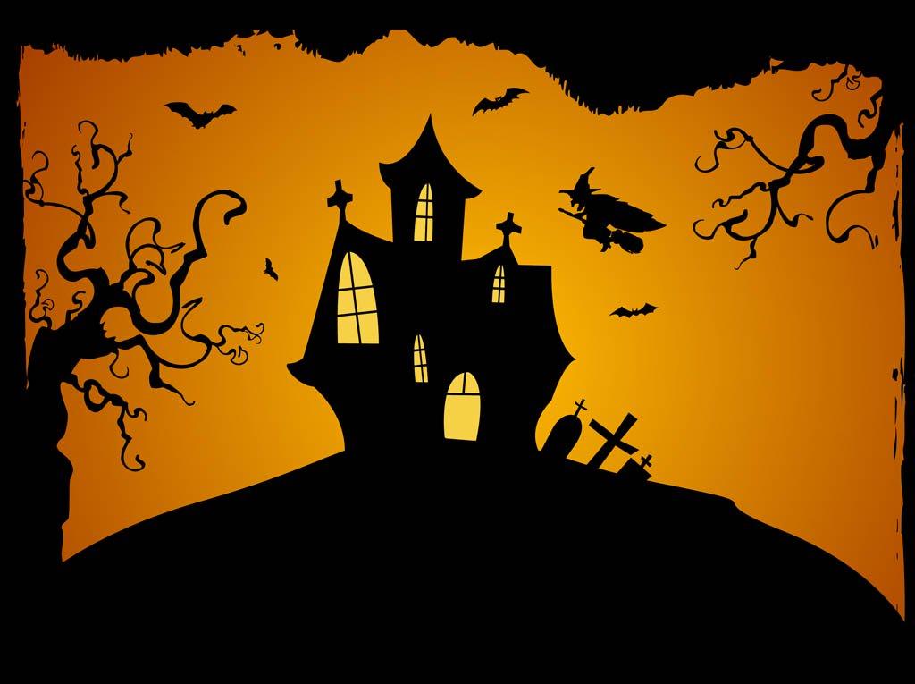 1024x765 Halloween Background Vector Vector Art Amp Graphics