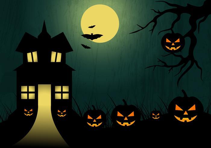 700x490 Halloween Backgrounds Free Vector Art