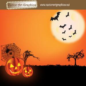 300x300 Halloween Vector Graphics
