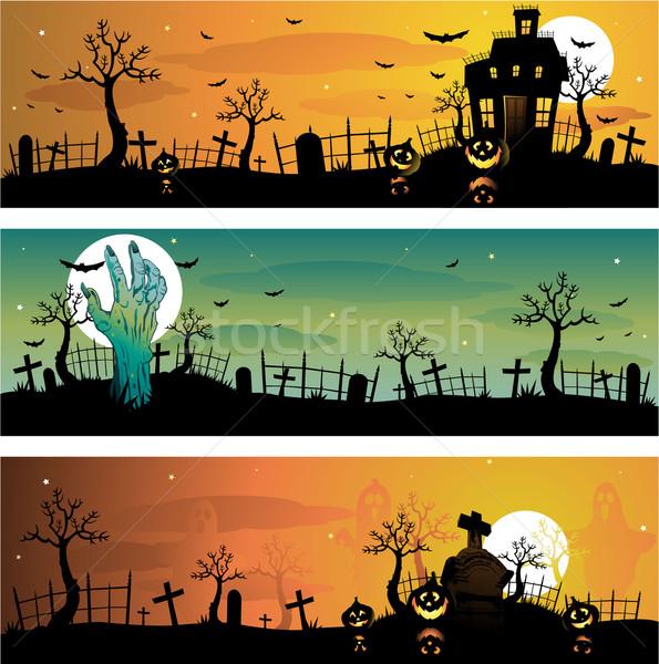 595x600 Halloween Background Vector Illustration Hugo Lacasse
