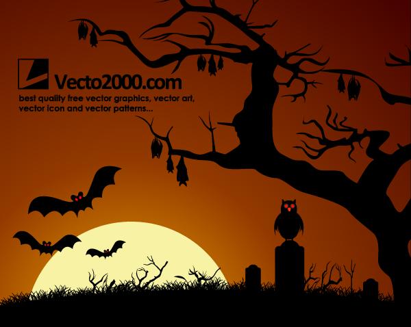 600x478 Free Halloween Background Haunted Dark Nights Psd Files, Vectors