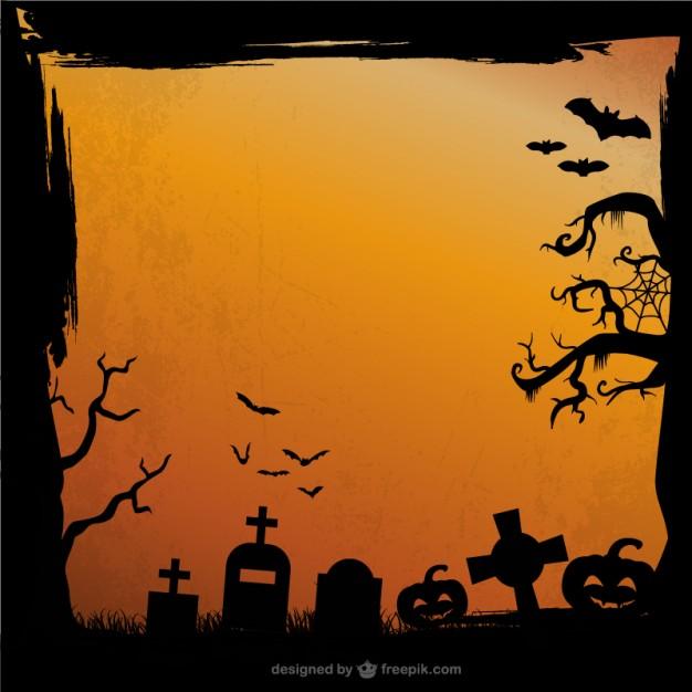 626x626 Grunge Halloween Background Vector Free Download