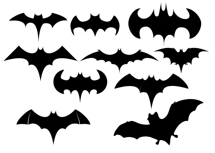 700x500 Free Vector Bat Shapes Creative Beacon