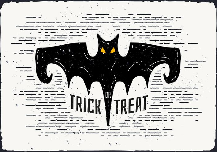700x490 Halloween Bat Vector Illustration