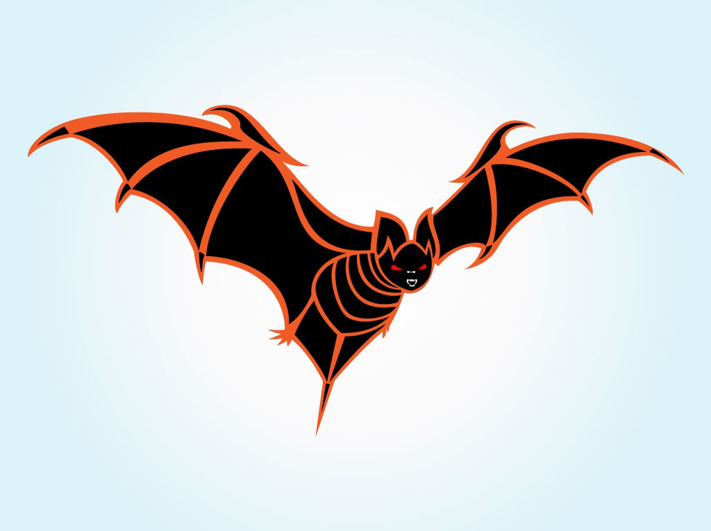 1024x765 Halloween Bat Vector Vector Art Amp Graphics