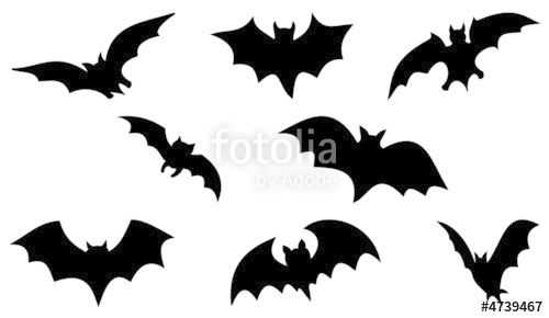 500x290 Halloween Bats Stock Image And Royalty Free Vector Files On