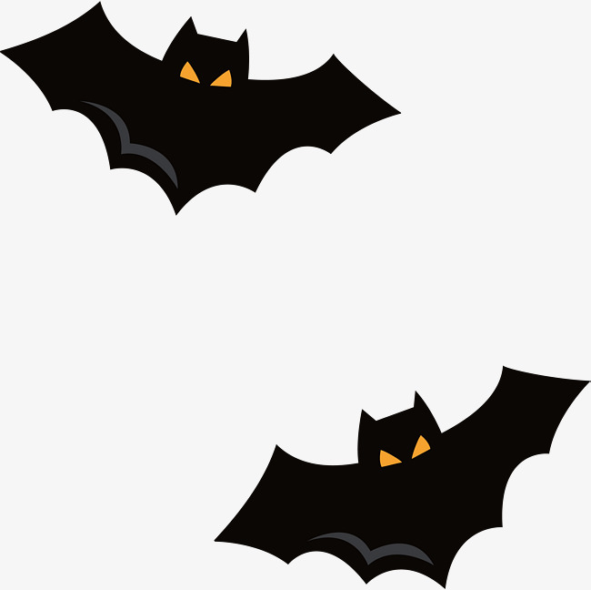 650x648 Black Halloween Bat, Black Vector, Halloween Vector, Bat Vector