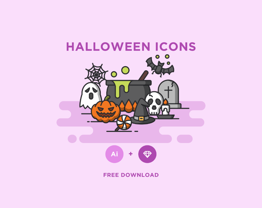900x714 Free Halloween Vector Icons Free Design Resources