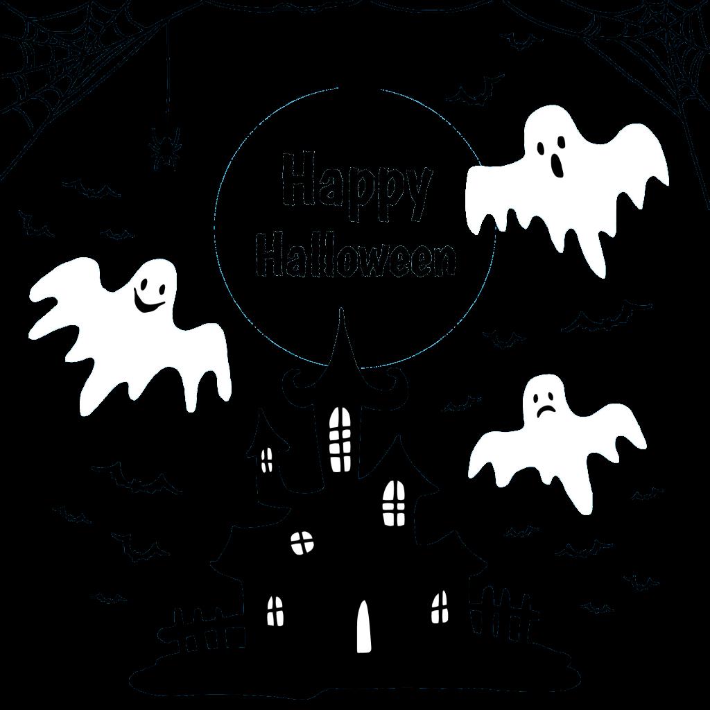 1024x1024 Free Happy Halloween Vector Free