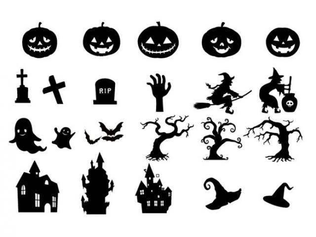 640x480 Halloween Vector Cliparts Free Download Clip Art