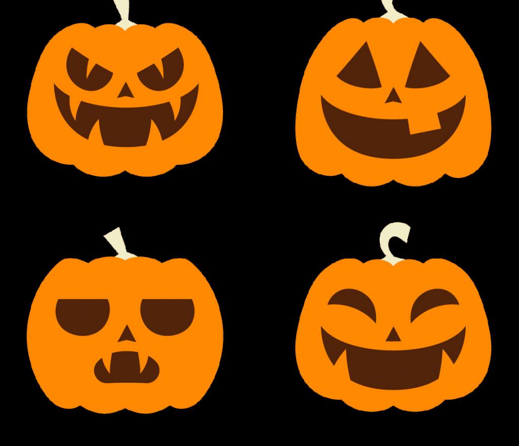 1024x880 Halloween Vector Free Png Pumpkin Download