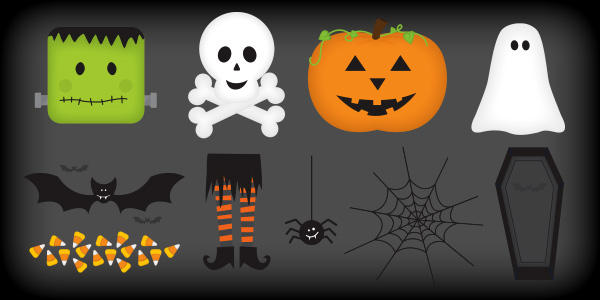 600x300 20 Free Halloween Vector Graphics To Create Scary And Spooky Designs