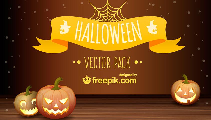 842x480 Free Download Halloween Vector Pack Webdesigner Depot Coloring