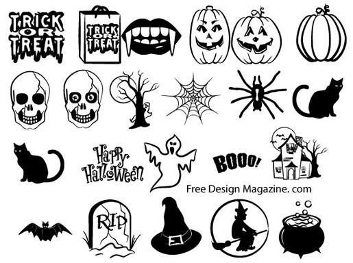 Halloween Vector Images