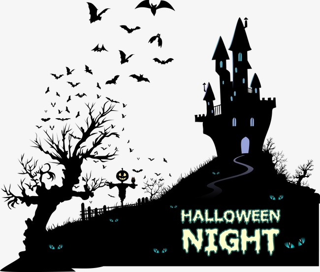 650x552 Halloween Vector Material, Halloween, Withered, Bat Png And Vector