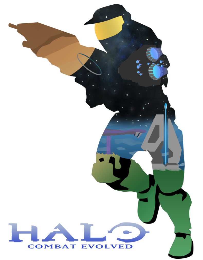 790x1012 Halo Combat Evolved