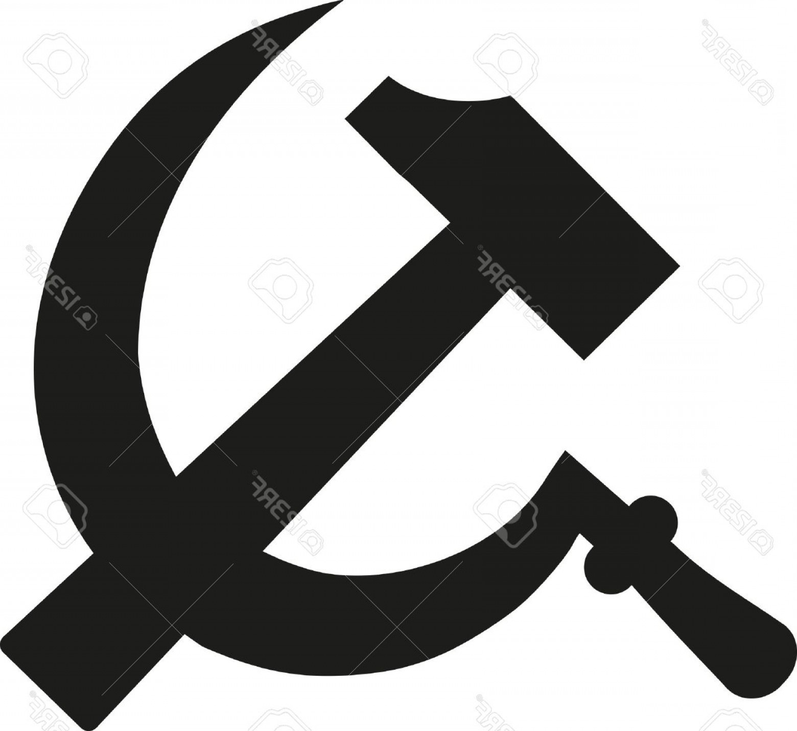1560x1430 Photostock Vector Hammer And Sickle Communism Sign Arenawp