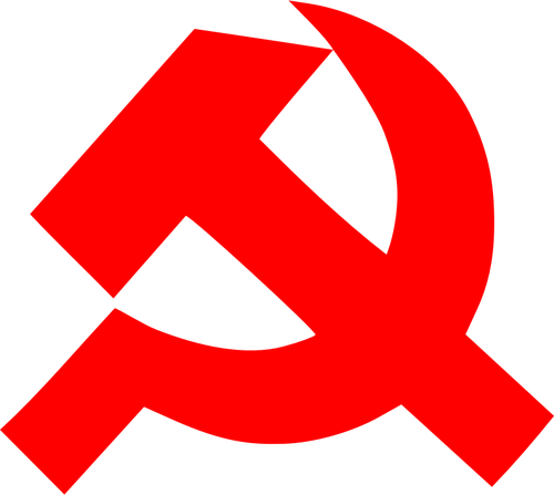 500x447 Communism Sign Of Thick Hammer And Sickle Vector Clip Art Public