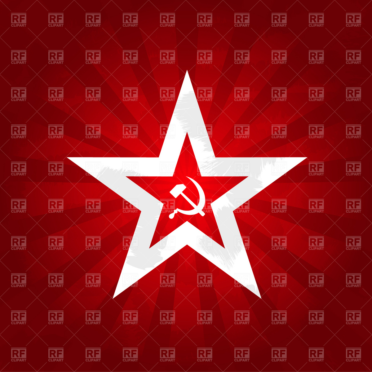 1200x1200 Communism Symbols Sickle And Hammer Vector Image Vector Artwork