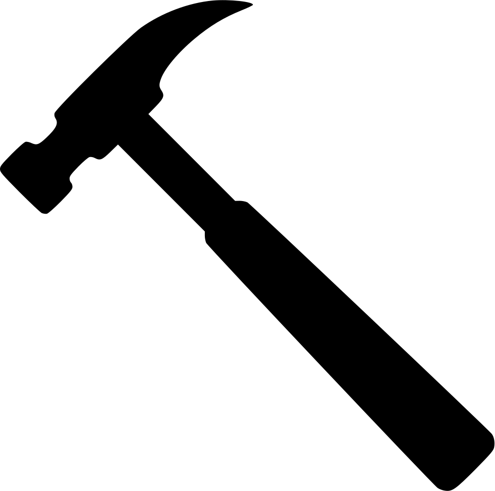 981x972 Collection Of Free Hammer Vector Svg. Download On Ubisafe