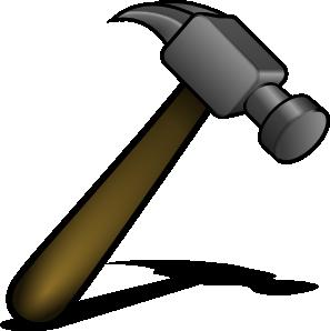 297x298 Hammer Clip Art Free Vector 4vector