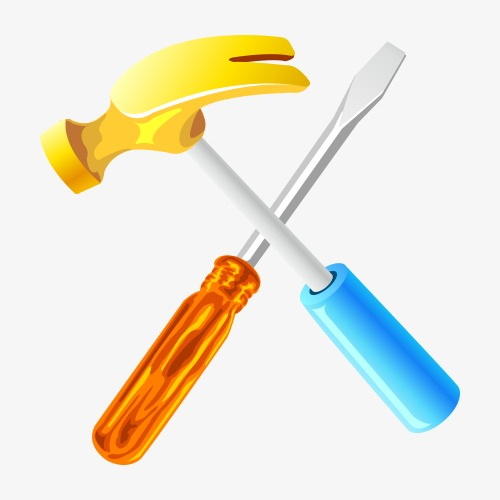 500x500 Hammer Vector Material, Hammer, Hardware, Vector Material Png And