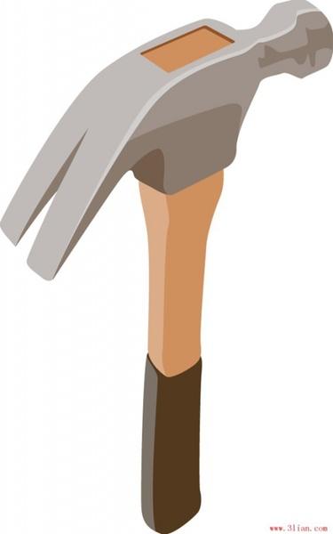 375x600 Hammer Hammer Vector Free Vector In Adobe Illustrator Ai ( .ai