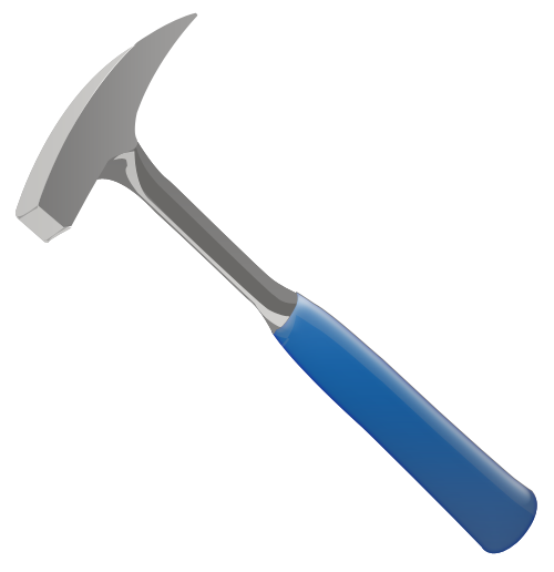 500x516 Collection Of Free Hammer Vector Illustration. Download On Ubisafe