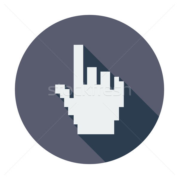 600x600 Hand Cursor Vector Illustration Oleksii Afanasiev (Smoki