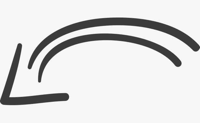 650x400 Hand Drawn Arrow Vector Diagram, Mapping, Sketch Arrow, Cursor Png