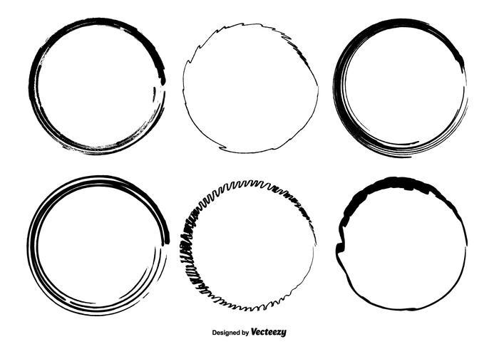 700x490 Hand Drawn Circle Vector Shapes