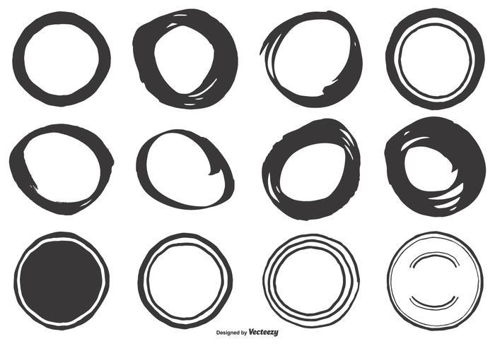 700x490 Cute Hand Drawn Circle Shapes