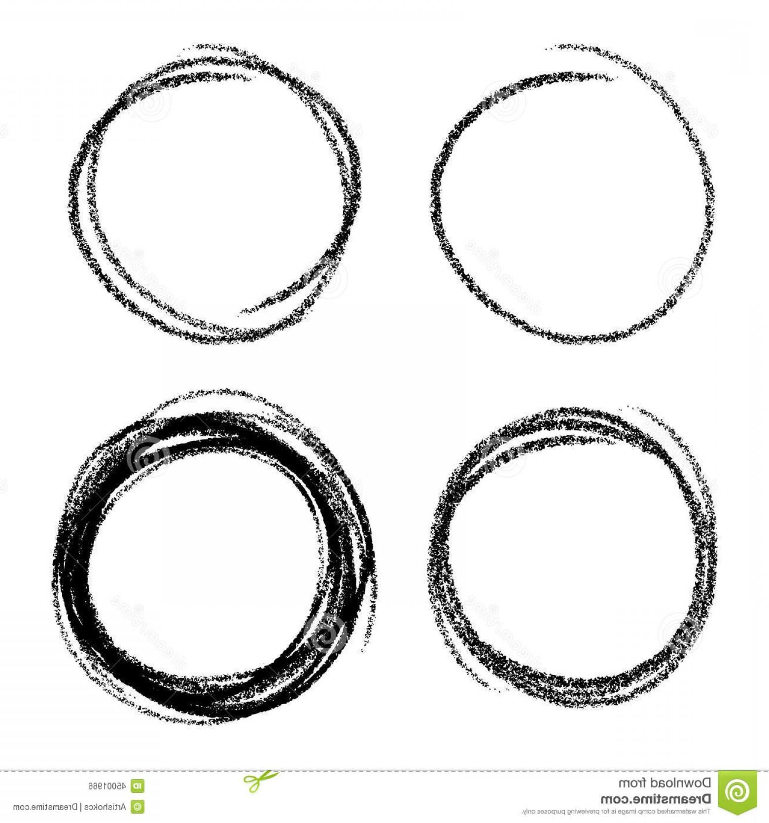 1560x1668 Stock Illustration Set Hand Drawn Scribble Circles Vector Design