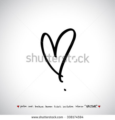 450x470 Collection Of Heart Vector Drawing High Quality, Free