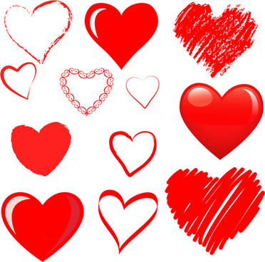 372x368 Hand Drawn Heart Vector Free Vector Download (9,371 Free Vector