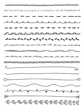 Hand Drawn Line Vector