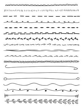 Hand Drawn Line Vector