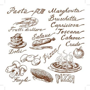 368x368 Hand Drawn Food Free Vector Download (10,713 Free Vector) For