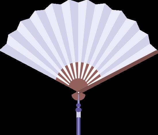 Hand Fan Vector