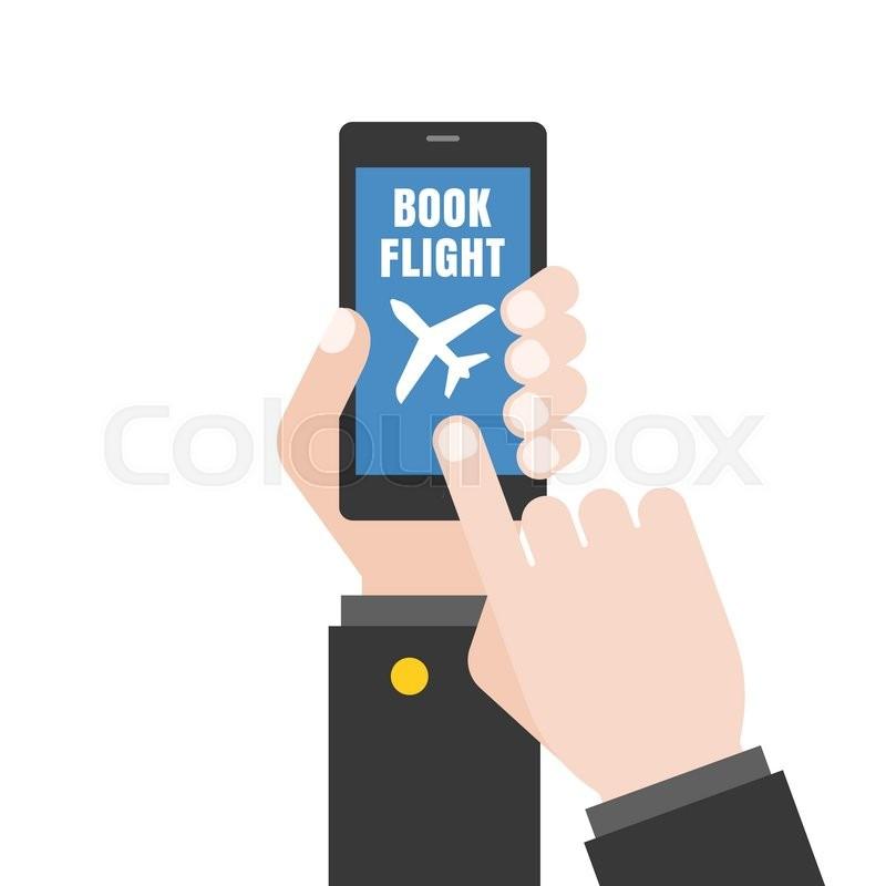 800x800 Hand Holding Smart Phone Illustration, Hand Touching Screen,hand