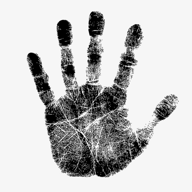 650x650 Handprint, Palm, Hand Type Png And Vector For Free Download