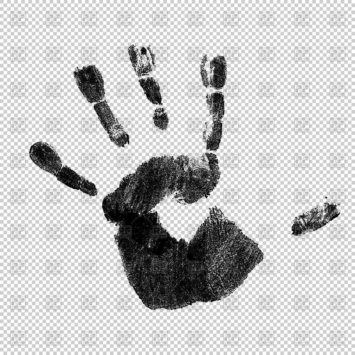 1200x1200 Handprint Vector Image Vector Artwork Of People Pashabo