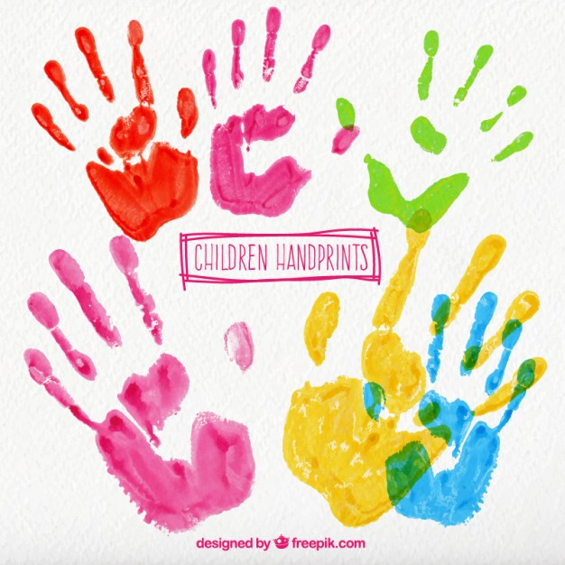 626x626 Handprint Vectors, Photos And Psd Files Free Download