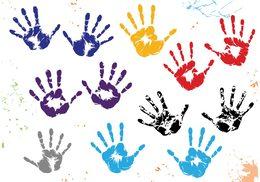 260x182 Handprint Clipart