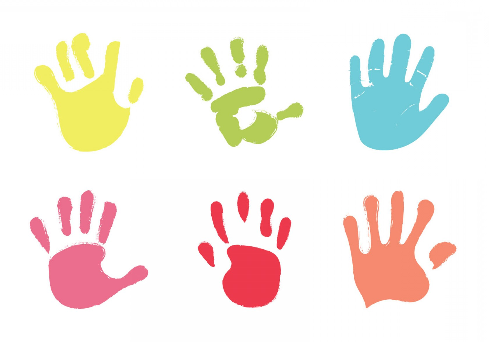 1680x1176 Free Baby Hand Print Vector Illustration Arenawp