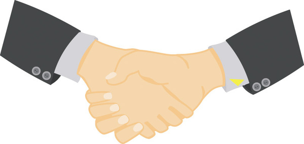 600x284 Handshake Free Vector Download (52 Free Vector) For Commercial Use